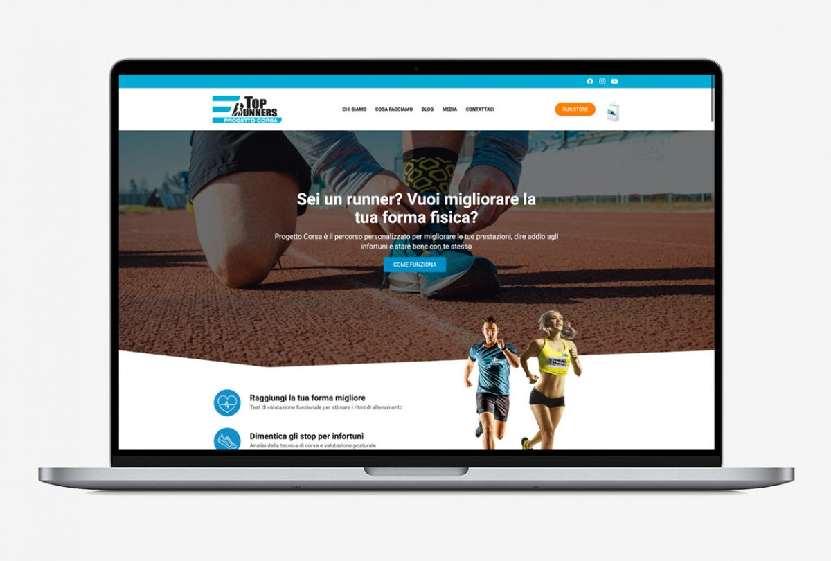Sito web Top Runners